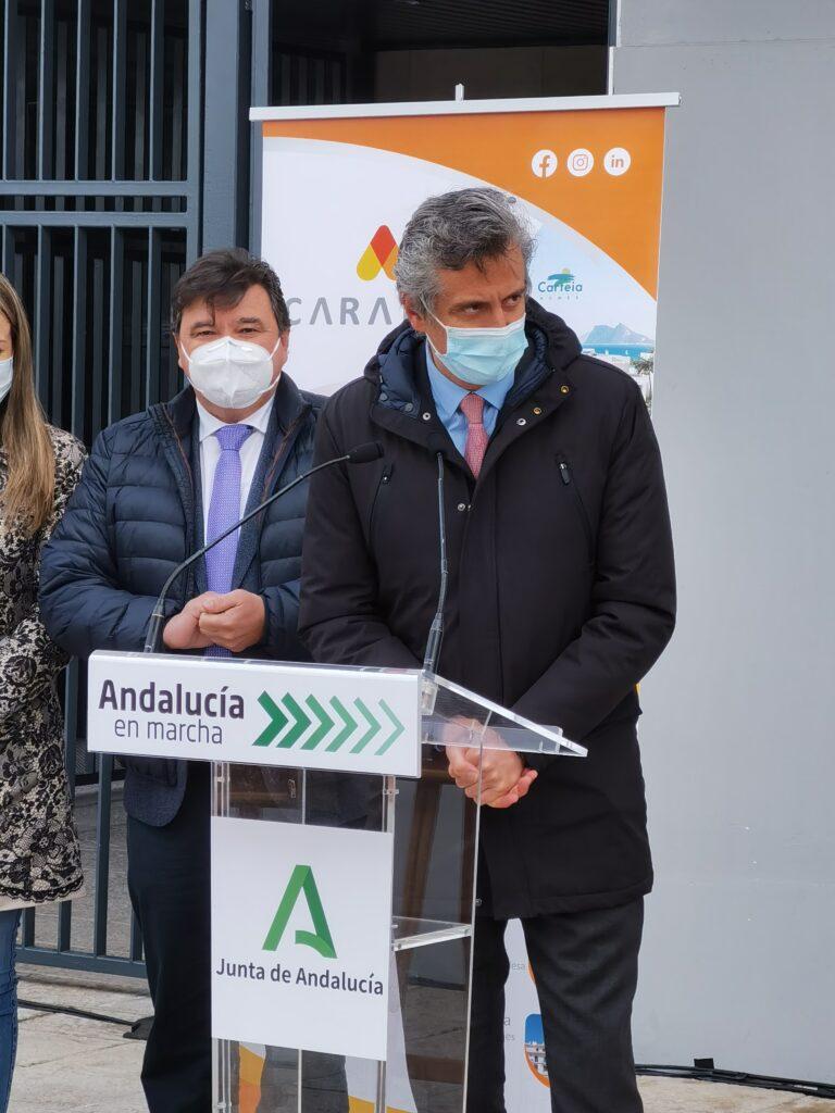 Rafael Miranda, Director General, en Edificio La Unión, viviendas de alquiler en Huelva promovidas por Caralca