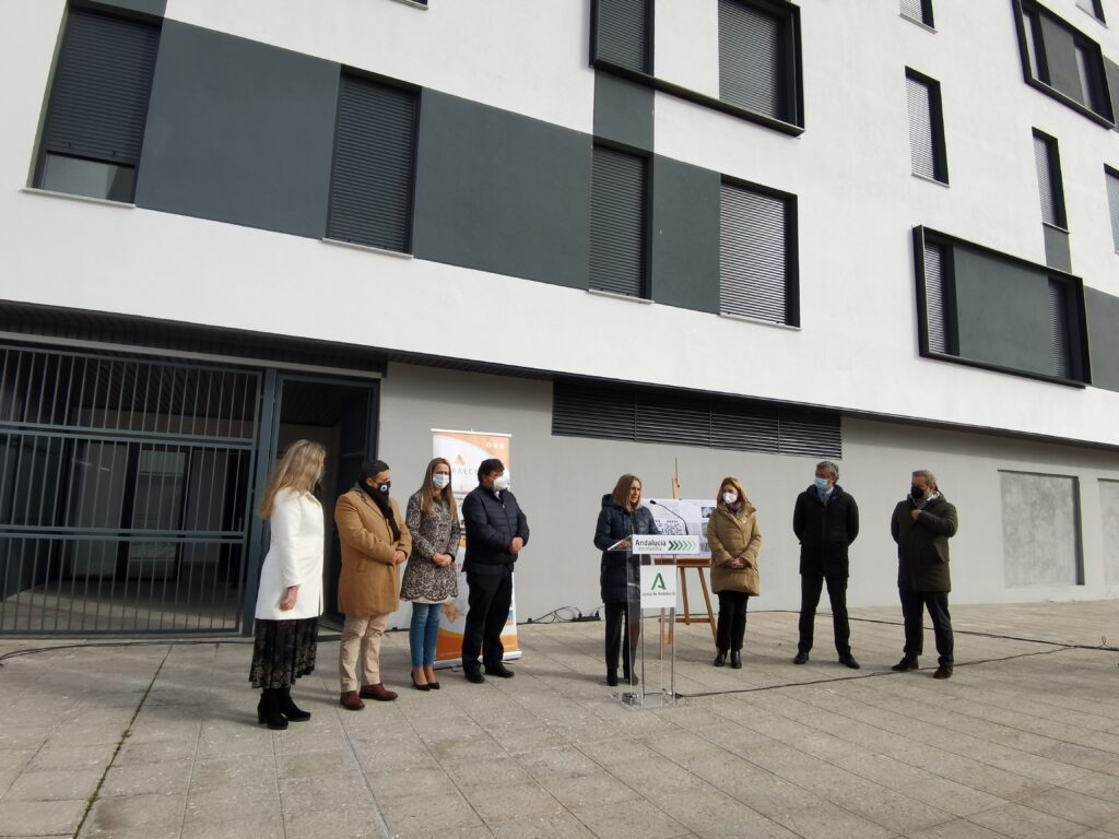 Edificio La Unión, viviendas protegidas de alquiler en Huelva